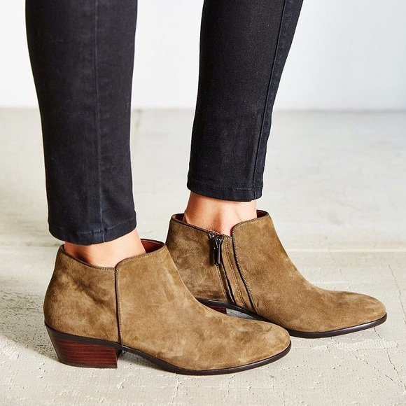 """66ef834e45138 Sam Edelman Moss green """"Petty"""" Ankle Boots. M 5ad1861184b5ced1a31d35a6.  Other Shoes you may like. 🆕Sam Edelman Peggy Booties"""